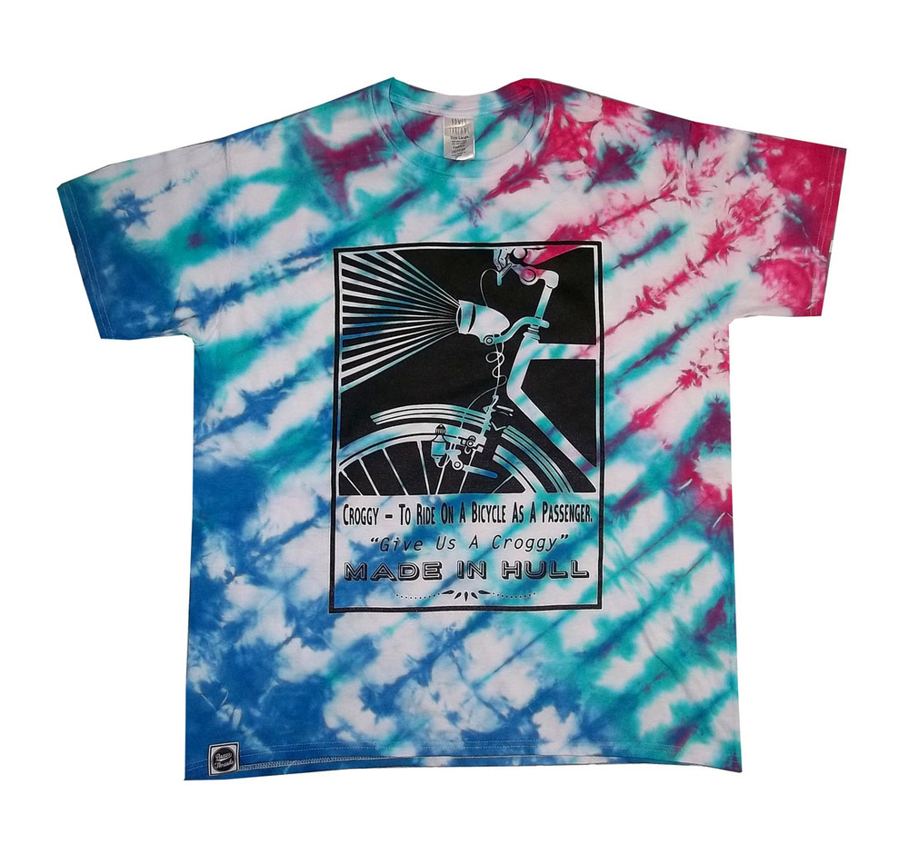 Bowes Threads Pocket Logo Tie Dye T-Shirt