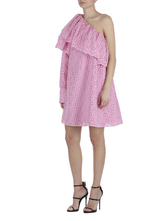 dress cotton pink