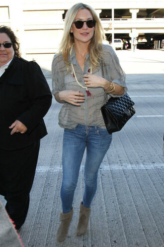 jeans ankle boots kate hudson