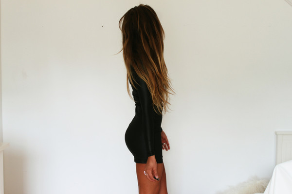 dress black short little black dress ring tanned