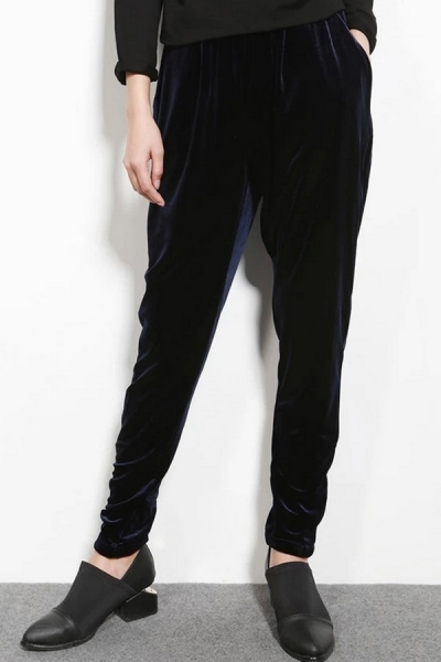Relaxed Draped Pants - OASAP.com