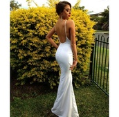 dress,white,silk,formal dress,cut-out,evening dress,formal,prom,white long dress,clothes,low back,classy,classy dress,year 12 formal,long dress,prom dress,low back dress,hair accessory,white silk backless dress,white dress,fashion,prom gown,backless dress,spaghetti strap,elegant,simple dress,backless,silk dress,ball gown dress,bodycon,bodycon dress,sexy,mermaid,trumpetdress,wedding dress,eveninggown,tight,cotton,bum,spahgetti straps,white tight backless spaghetti strap dress ccc,tight white backless spaghetti    strap dress,white prom dress,gown,open back dresses,long,aliexpress