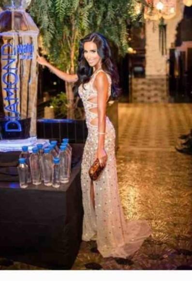 celebrity style sparkle dress long prom dress formal dress slit dress beige dress