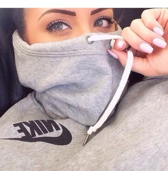 sweater nike sweatshirt nike sweater nike jacket style fashion make-up