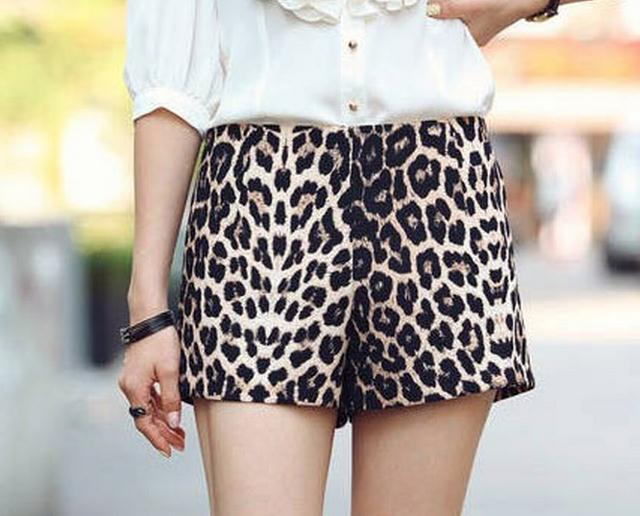 SOFT LEOPARD SHORTS on Luulla