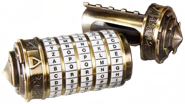 Mini Da Vinci Code Cryptex