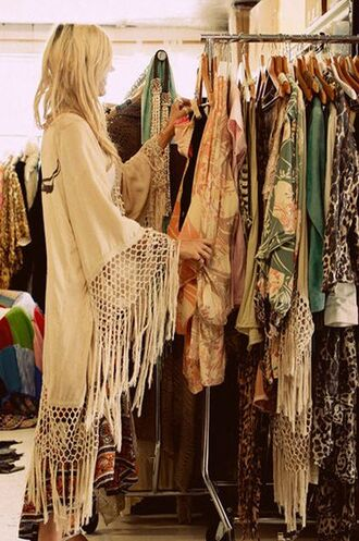 jacket white kimono kimono on the racks flowy coat white fringe kimono kimono jacket knitwear