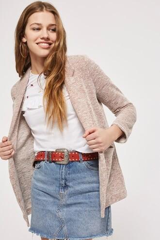 jacket blush