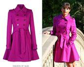 coat,glee,rachel berry