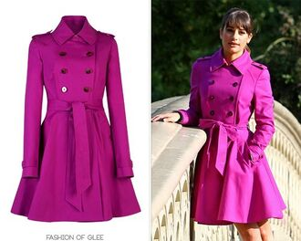 coat glee rachel berry