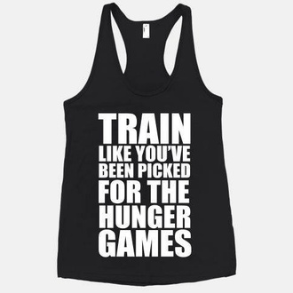tank top the hunger games black lookhuman