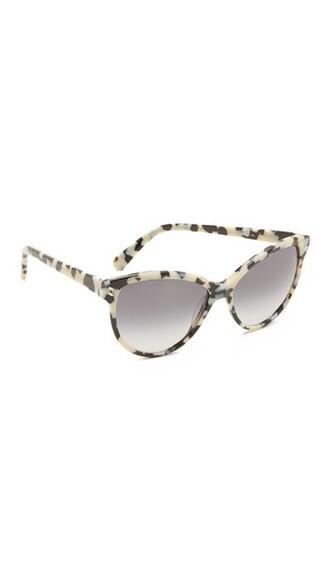classic sunglasses white grey