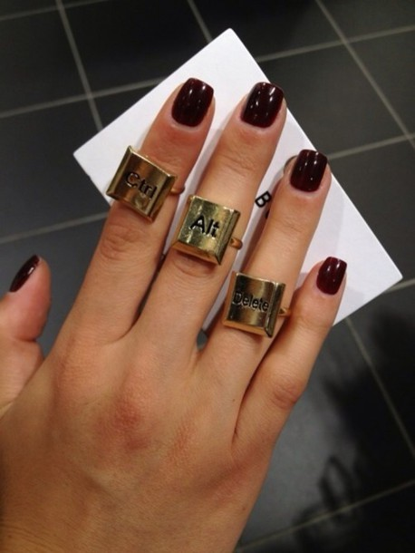 jewels ring ctrl alt del