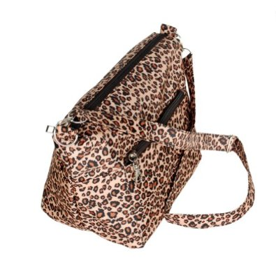 Amazon.com: [Cassual Life] Coffee Leopard Handbag Shoulder Bag Satchel Bag Purse: Shoes