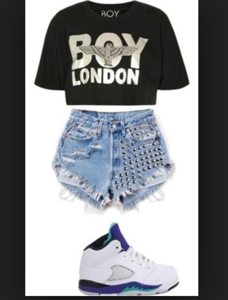 shirt boy boy london t-shirt silver gold london paris dope