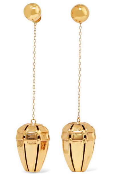 Ellery - Varment Gold-plated Earrings