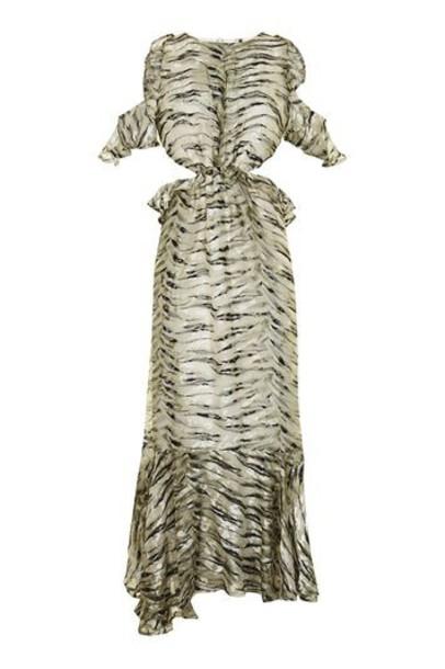 dress back open open back ruffle silk