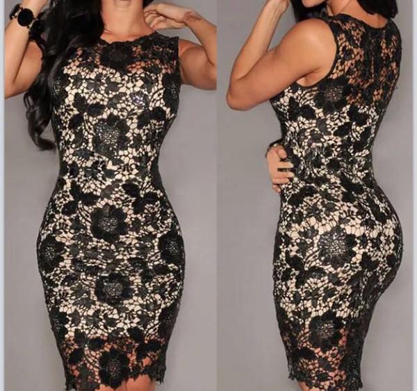 dress floral dress black short sleeve fashion style