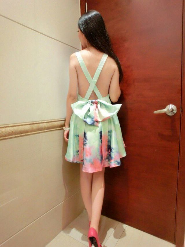 Aliexpress.com : Buy Colorful Women Hot Sexy Open Back cross bow racerback sleeveless one piece Floral Print Tie Dye Pleated Dress Free Shipping from Reliable print short dresses suppliers on Vogue Official Online Shop.