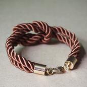 jewels,bracelets,nautical bracelet,rope bracelet,rope bracelet for men,brown,vintage,fashion,girl,menswear,knot bracelet