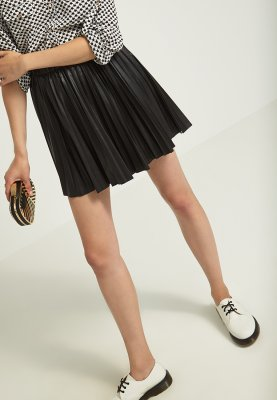 ONLY CECILIA - Pleated skirt - black - Zalando.co.uk