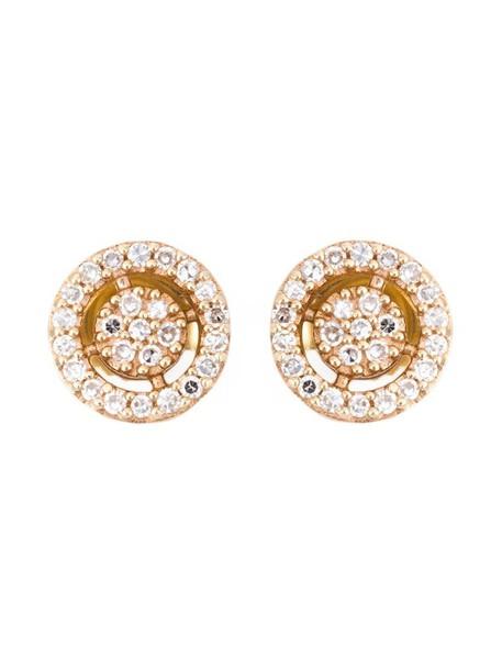 Astley Clarke mini women earrings stud earrings gold grey metallic jewels