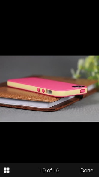 phone cover belkin pink and orange