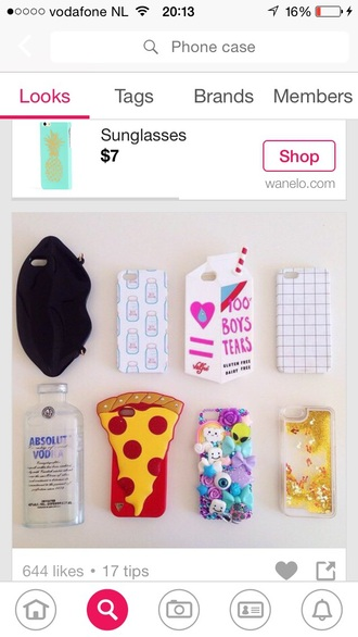 phone cover milk grid iphone case iphone cover absolut vodka vodka aliexpress pizza katy perry claires alien customized weheartit