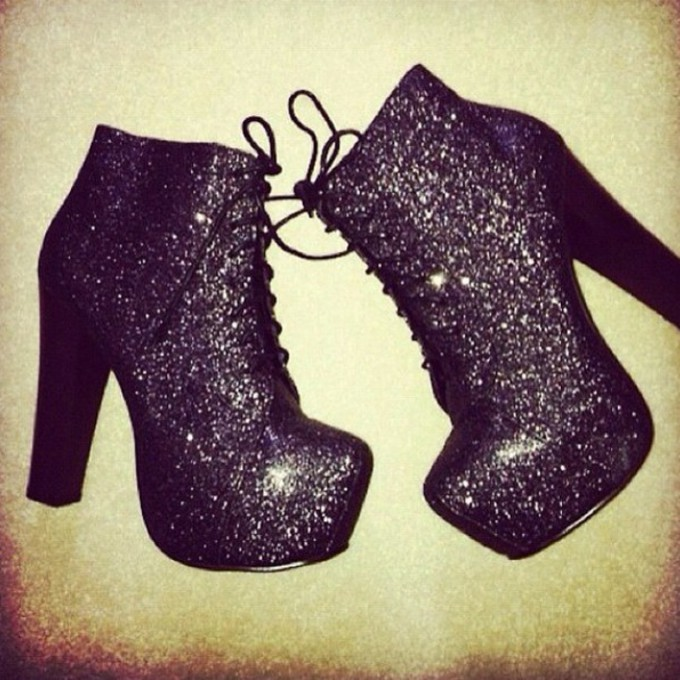 boots shoes glitter boots gorgeous fashion style high