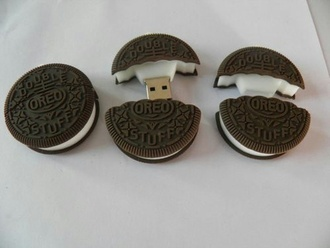 phone cover oreo food electro flash drive