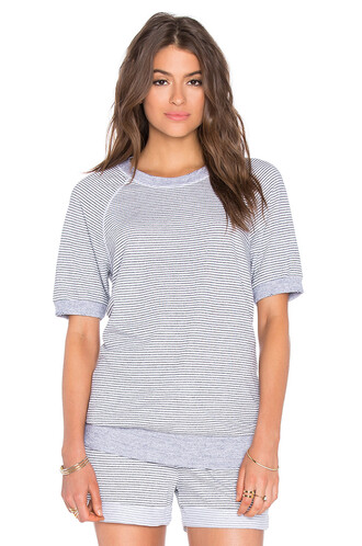 top short grey heather grey