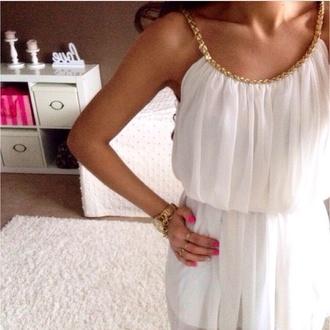 dress greek style white blouse