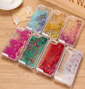 Case Original Design With Glitter And Liquid Inside