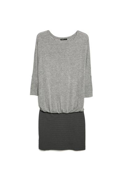 jersey combi dress