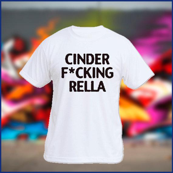Cinderella tshirt mens tshirt womens tshirt white by sweetteesnow