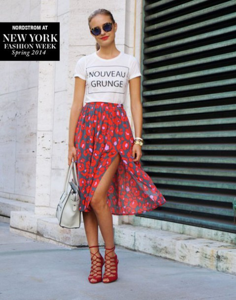 Skirt: midi skirt, floral skirt, crop tops, graphic crop tops ...