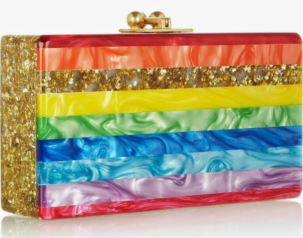 bag edie parker anazing amazing clutch designer wow statement piece yolo style fashion love colorful epic art Accessory fabulous dope