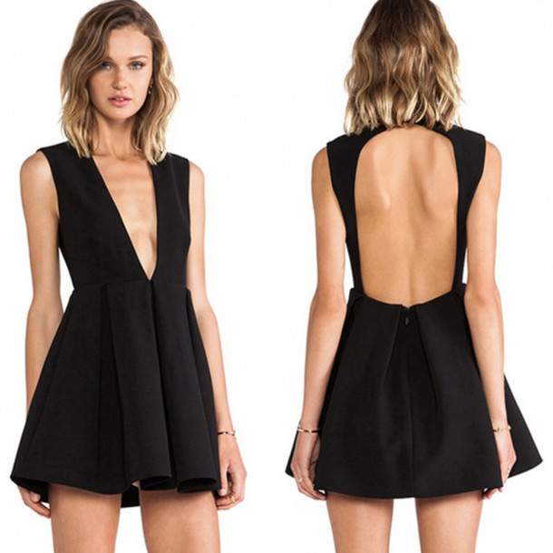 Dress: ootd, sexy, cute, cool, black dress, little black dress ...