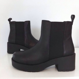 boots ankle boots black