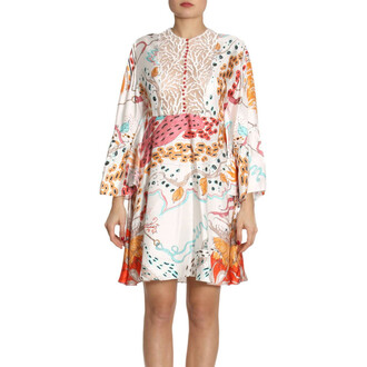 dress women coral