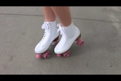 shoes,roller skates