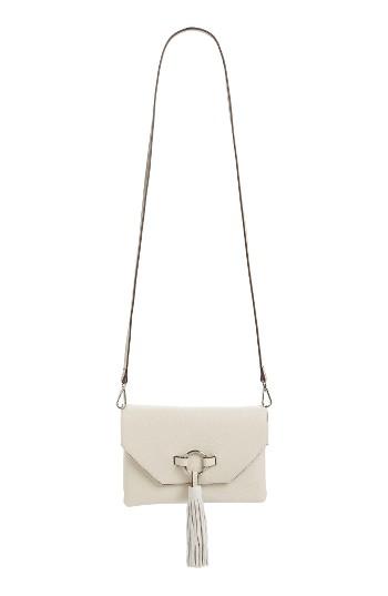 Street Level Ring Tassel Convertible Faux Leather Crossbody Bag   Nordstrom b2f4f804d1