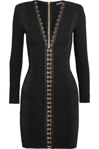 dress mini dress mini knit black
