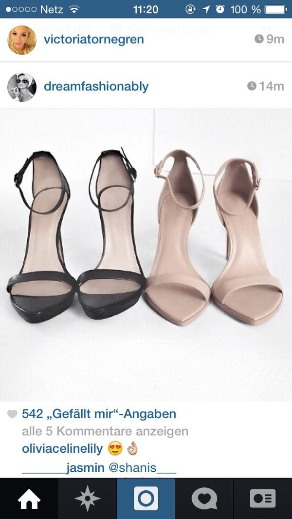 shoes heels minimalist nude strappy minimalist shoes black heels beige high-heeled sandals high heels nude sandals nude shoes black straps