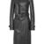 Soft Nappa Trench Coat In Black by MUGLER | Moda Operandi