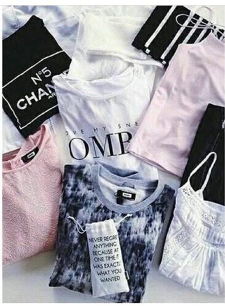 shirt vogue tumblr shirt tumblr black white