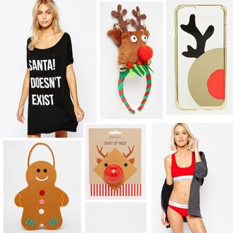 lovely by lucy blogger christmas holiday season phone cover deer calvin klein underwear