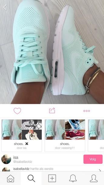 shoes blue shoes nike shoes nike running shoes nike air