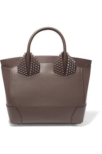 chocolate leather bag