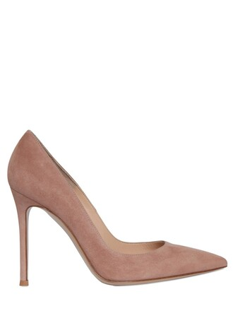 suede pumps pumps suede blush shoes